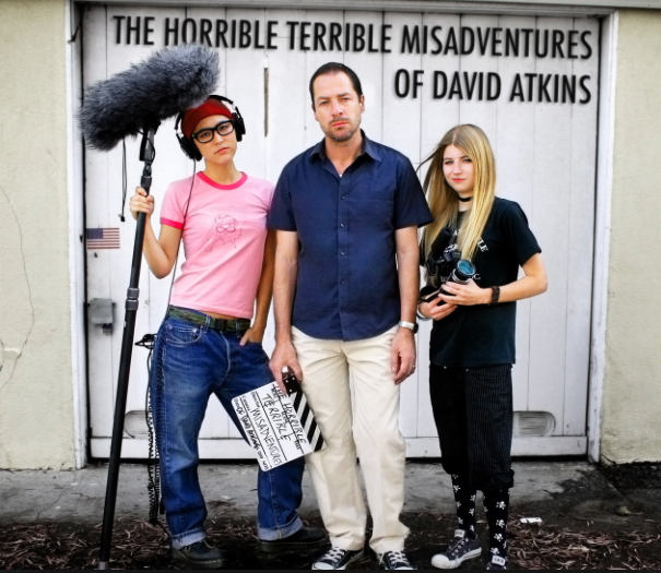 The Horrible Terrible Misadventures of David Atkins Poster